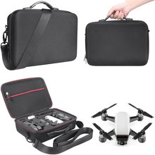 EVA Hard Shell RC Drone Storage Bag Portable Waterproof Case Handheld Shoulder Bag for DJI Spark Drone Accessories dji spark case hardshell shoulder bag portable handbag carrying backpack storage boby controller battery for dji spark drone