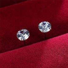 Милые женские белые серьги с камнем кристаллом в винтажном стиле;