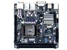 Placa madre Original de escritorio Gigabyte LGA 1155 MINI-ITX NAS placa base DUAL LAN GA-B75N(China)