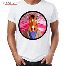 Mens T Shirt Bojack Horseman Mr Penautbutter Escape From LA Artsy Awesome Artwork Printed Tee