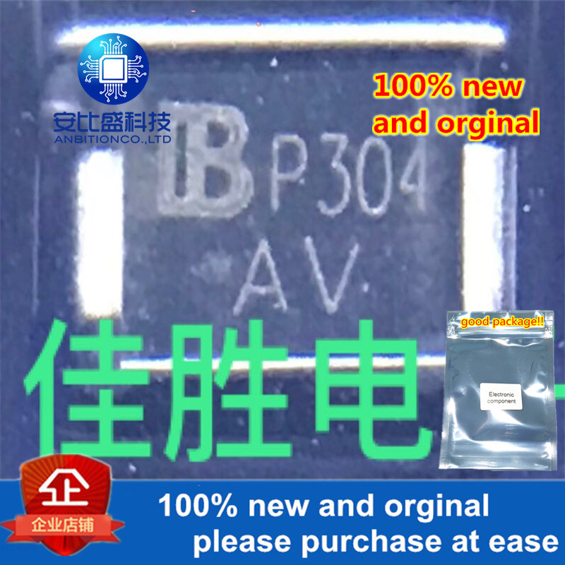 50pcs 100% New And Orginal SMBJ9.0CA DO214AA Silk-screen AV In Stock