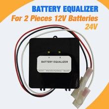 12/24V батареи Напряжение балансировки свинцово-кислотный Батарея Aharger регуляторы последовательно подключить Панели солнечные ячейки