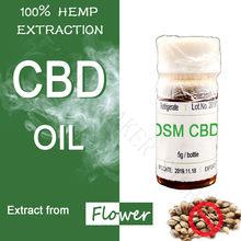 OSM 5 мл полный спектр экстракта конопляного масла CBD из 100% конопли 88% CBD элементы эффективное Расслабление разума и уменьшение беспокойства и ...