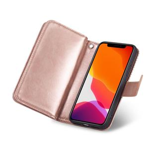 Image 5 - 9 Card Holder Wallet Case for Apple iPhone 11 Pro Max Xs X XR 8 7 6 6S Plus 5 5s SE Flip Leather Detachable Magnetic Phone Case