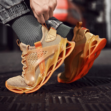 2019 Shock Absorbing Running Shoes Men Outdoor Sport Running Sneakers Gym Jogging Training Shoes Men Casual Shoes Lace-Up onlymonkey men running shoes new design air cushion lace up male sport shoes outdoor shock absorbant stability support sneakers