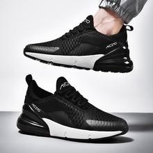 Tenis Feminino נעלי גברים סניקרס לנשים אוויר כרית לנשימה שרוכים חיצוני מקורי 270 כושר נעלי Zapatillas Hombre