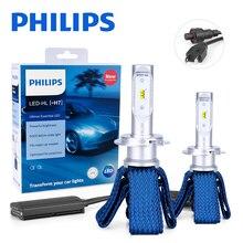 פיליפס Ultinon חיוני H7 LED 11972UEX2 12V 6000K רכב LED פנס אוטומטי HL קרן תרמית מגניב luces led para אוטומטי נורות 2PCS
