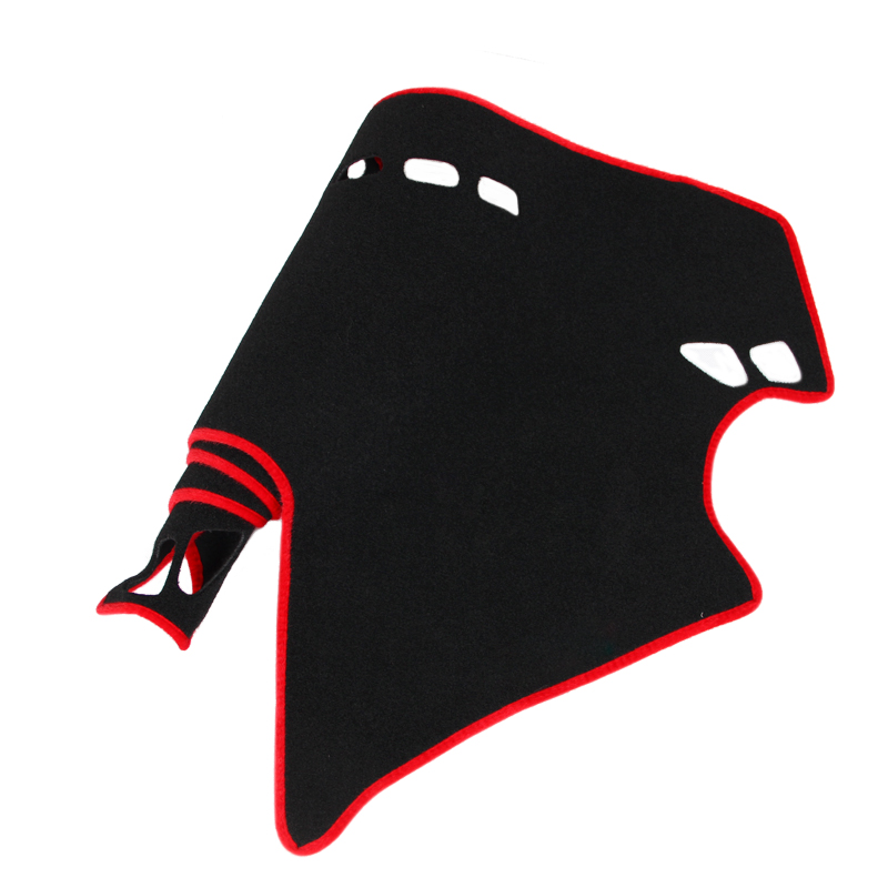 Dashboard Cover Pad Dashmat Dash Mat Sun Shade Carpet Pad For 2009 2013 in Sound Heat Insulation Cotton from Automobiles Motorcycles