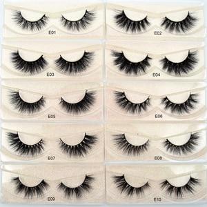 Image 4 - Visofree Mink Eyelashes Crisscross Natural False Eyelashes Eyelash Extension Full Strip False Lashes Handmade Fake Eyelashes E11