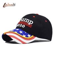 Новая бейсбольная кепка Дональда Трампа 2020, бейсболка с флагом США, сохраняющая Америку, отличная, снова Снэпбэк, шапка на тематику президен...