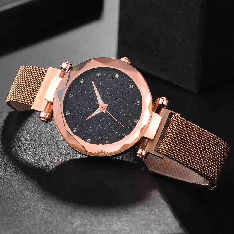 2019 Luxury Watch Women Rose Gold Water Bracelet Watch Jewelry Ladies Female Hour Casual Quartz Wristwatches whatch women waches Jewelry & Watches