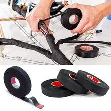 15 metros resistente al calor cinta retardante de la llama Coroplast cinta adhesiva para ropa para arnés de Cable automóvil cableado telar de protección