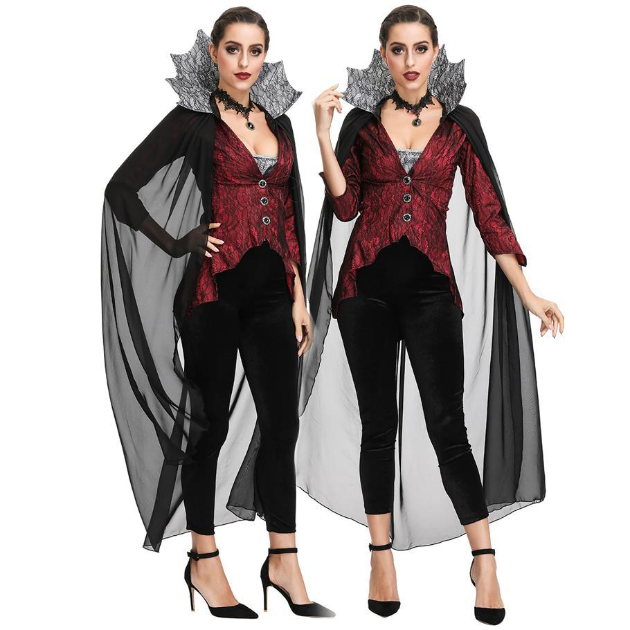 Dancing Stage Costumes Vampire CountEs Costume Halloween-med Party Party Stage Costume Sportswear