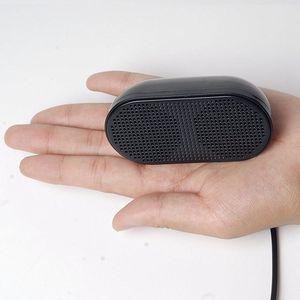 Image 5 - USB Lautsprecher Tragbare Lautsprecher Powered Stereo Multimedia Lautsprecher für Notebook Laptop PC (Schwarz)