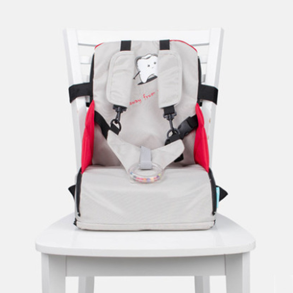Stool High Chair Folding Traveling Oxford Cloth Zipper For 0-3Y Comfortable Detachable Children Booster Seats Baby Feeding