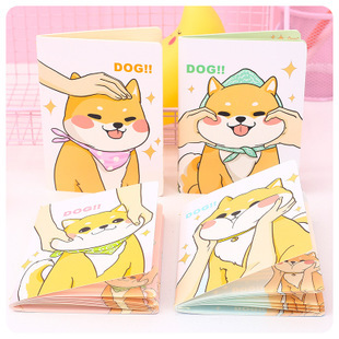 Shiba Classroom Learning Dog Notebook Diary Book Exercise Bullet Journal Notepad Gift Stationery