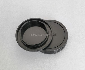 Image 2 - Camera Front Body Cap + Rear Lens Cap Replace R F 4 for Canon for EOS M for EOSM 2 M3 M5 M6 Mark II M10 M50 M100 Camera and EF M