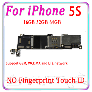 Image 2 - 100% Original Unlocked for iphone 5S motherboard with touch ID for iphone 5S 5 S Logic board with chip With IOS MB Good working