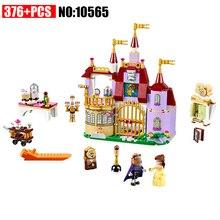 10565  Princess Belles Enchanted Castle 41067 Building Block Model Figure Educatio Toys
