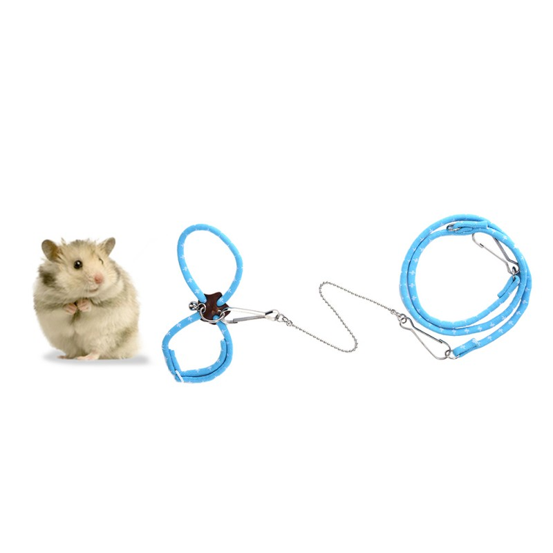 New Hot Reptile Harness Hamster Chest Strap Leash Small Pet Nylon Harness For Guinea Pig Ferret Hamster Accessories