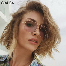 GIAUSA Luxury New Designer Brand Square Women Cat Eye