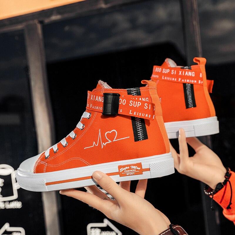 TUINANLE trampki moda tenisówki damskie oddychające płaskie buty za kostkę 2021 wiosenne buty wulkanizowane damskie Tenis Feminino