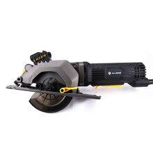 ALLSOME-Sierra eléctrica Circular de 600W, cortador de madera con láser cónico recto, sierra eléctrica de mano multifuncional