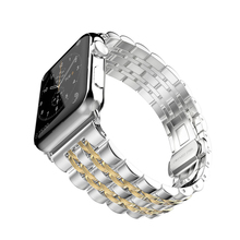 цена на Stainless Steel loop strap For Apple Watch Band 44mm 40mm 42mm 38mm Bracelet wrist Strap For iwatch Series 5 4 3 2 1 accessories