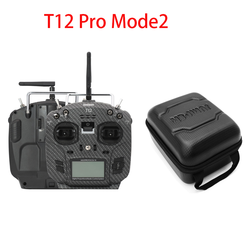 Jumper T12 Pro Open Source 16ch Radio Wi/ HALL Gimbal Built-in JP4-in-1 Multi-protocol 2.4inch LCD RF Module OpenTX For RC Drone