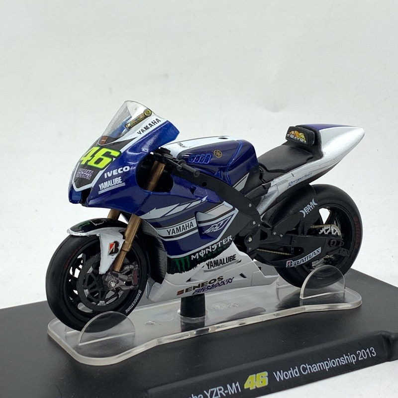 1/18 Honda Moto GP RCV 1 Motorcycle Model Collection Model NO.46 Motorcycle Toys