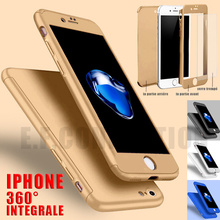 Etui Coque 360 Protection For IPHONE 6/7/8/X S/XR/11/Pro/Max 12 + Vitre Verre Trempe