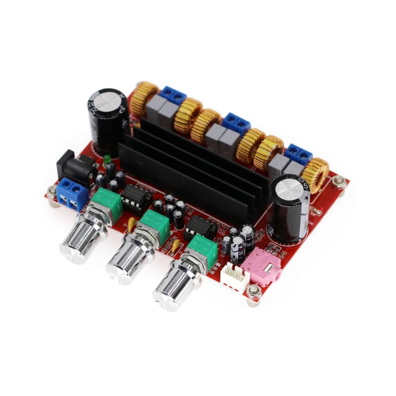 New <font><b>Amplifier</b></font> <font><b>Board</b></font> <font><b>TPA3116D2</b></font> <font><b>50Wx2</b></font>+<font><b>100W</b></font> <font><b>2.1</b></font> Channel 12-24V Digital Power Subwoofer image