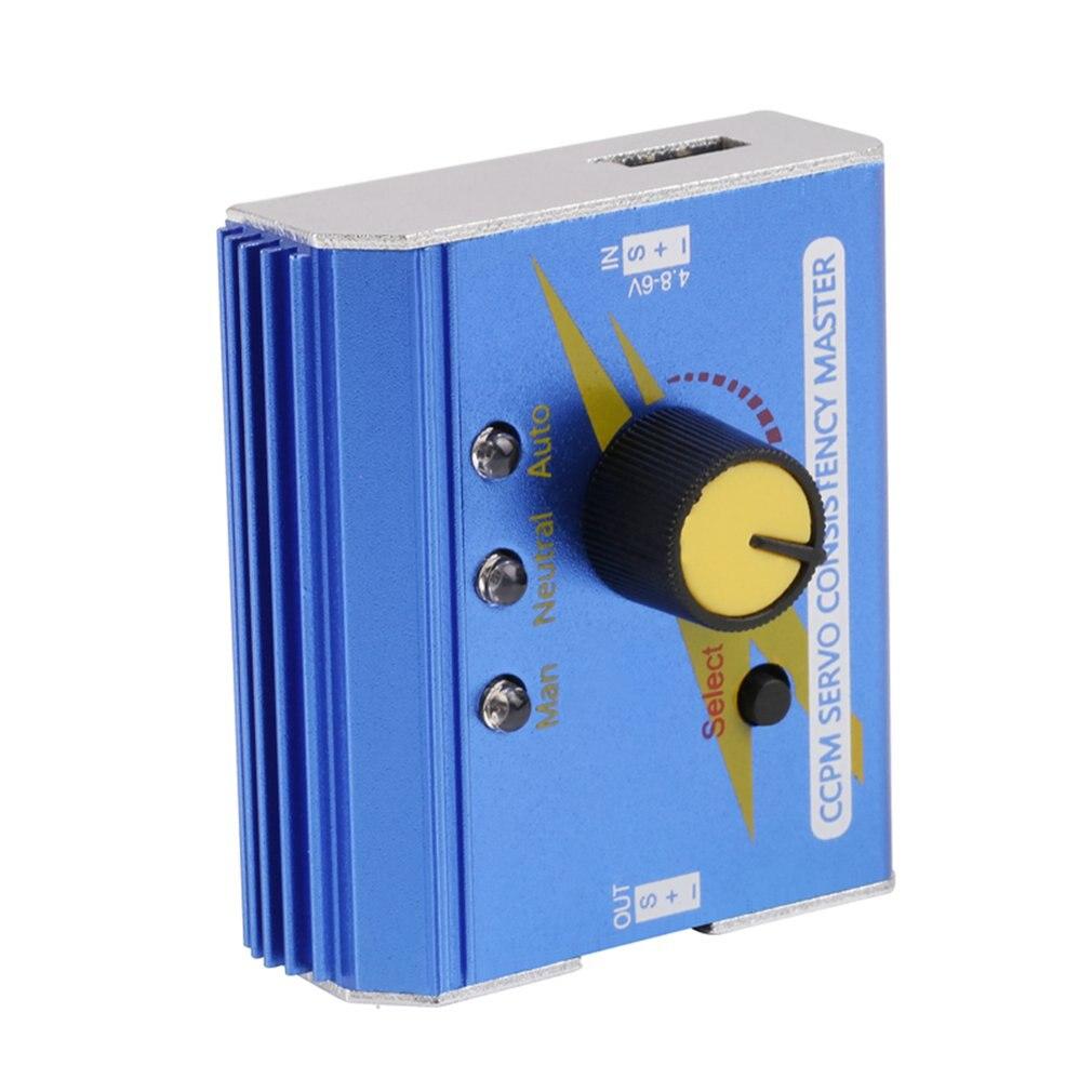 1pcs Professional Motor Servo Tester Electronic Speed Controller Checker Master For RC Plane Car Boat RC Servo Tester