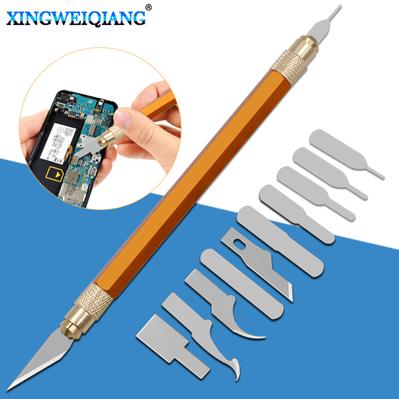 CPU Disassembly Knife Blade Glue Cleaning Knife Phone Repair Kit Mobile Phone Repair
