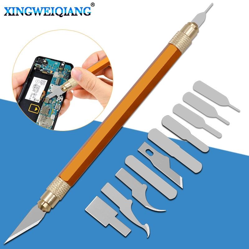 CPU Disassembly Knife Blade Glue Cleaning Knife Phone Repair Kit Mobile Phone Repair