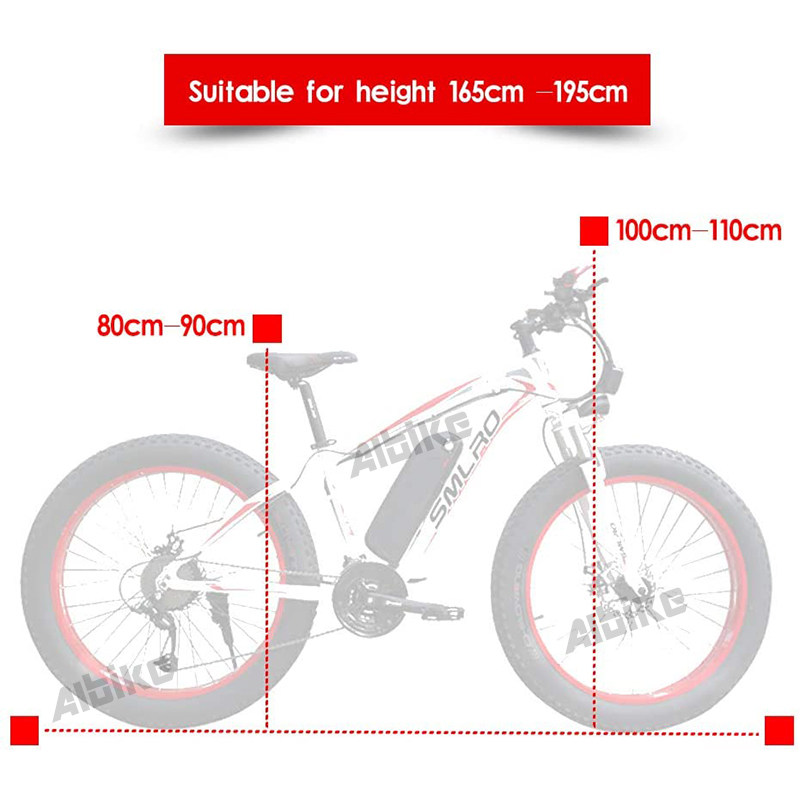 1000W Electric bicycle electric fat bike beach bike cruiser electric bike 48v 13ah lithium battery ebike electric mountain bike