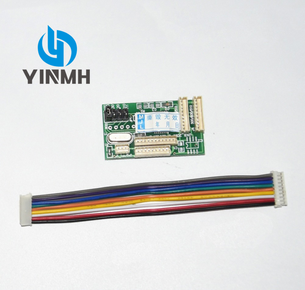 1pcs Chip Decoder Replacement For HP <font><b>500</b></font> DesignJet <font><b>500</b></font> 500ps 510 800 800ps 815MFP 820MFP 10PS 20PS 50PS <font><b>30</b></font> 70 90 printer image
