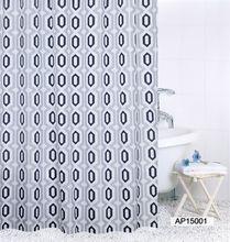 Занавеска для ванны neomi с алмазным узором водонепроницаемая