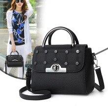 цена на New brand Leather ladies handbags women messenger bag designer leisure travel office bag shoulder Bag Boston Hand Bags Hot Sale