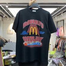 Primavera e verão travis scott camiseta masculina e feminina alta qualidade esportes de rua feminina manga curta travis scott t-shir