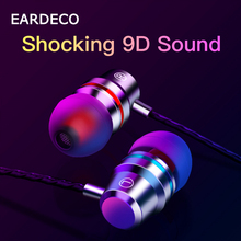 EARDECO Wired Headset In-Ear Phone Earphone Bass Subwoofer Stereo Earphone For Xiaomi Huawei Samsung iPhone With Microphone wired earphones with microphone for phone sports headset stereo earphone with microphone for iphone xiaomi samsung