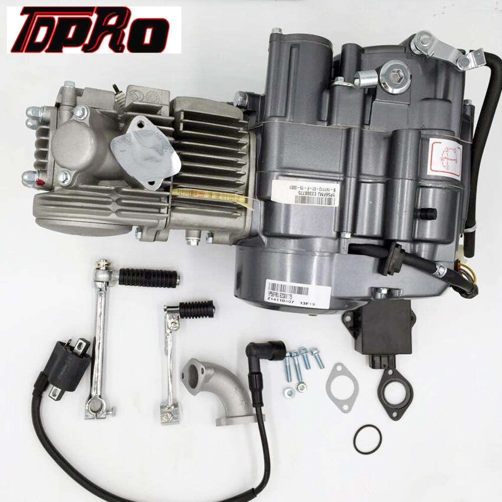 TDPRO LIFAN <font><b>150cc</b></font> Motor <font><b>Engine</b></font> Kick Start 4 Speed Manual for <font><b>Honda</b></font> XR50 CRF50 70 Dirt Pit Bike Apollo Thumpstar Atomik Braaap image