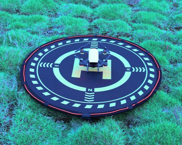 Drone 70CM podkładka do lądowania z diodami LED składana do dji mavic Pro iskra powietrza Mavic 2 Zoom Phantom 3 4 Pro