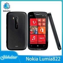 Nokia Lumia 822 Refurbished Unlocked 16gb WCDMA/GSM/CDMA/LTE Dual Core 8mp Windows Mobile-Phone