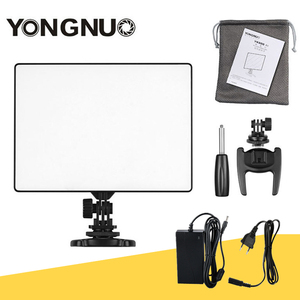 Image 1 - YONGNUO YN300 air YN 300 air Pro LED Camera Video Light video photography Light+AC Power Adapter charger kit For Canon Nikon
