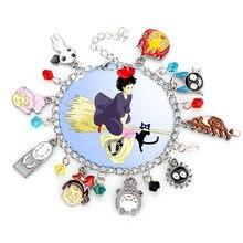 Bracelet Anime Totoro et Kiki pour femmes, Service de livraison, offre du black friday