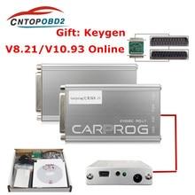 Outil de réparation automobile, Carprog FW V8.21, 2019 Keygen gratuit en ligne, ensemble complet de programmeur d'airbag/Radio/Dash/ECU, Version en ligne, 8.21