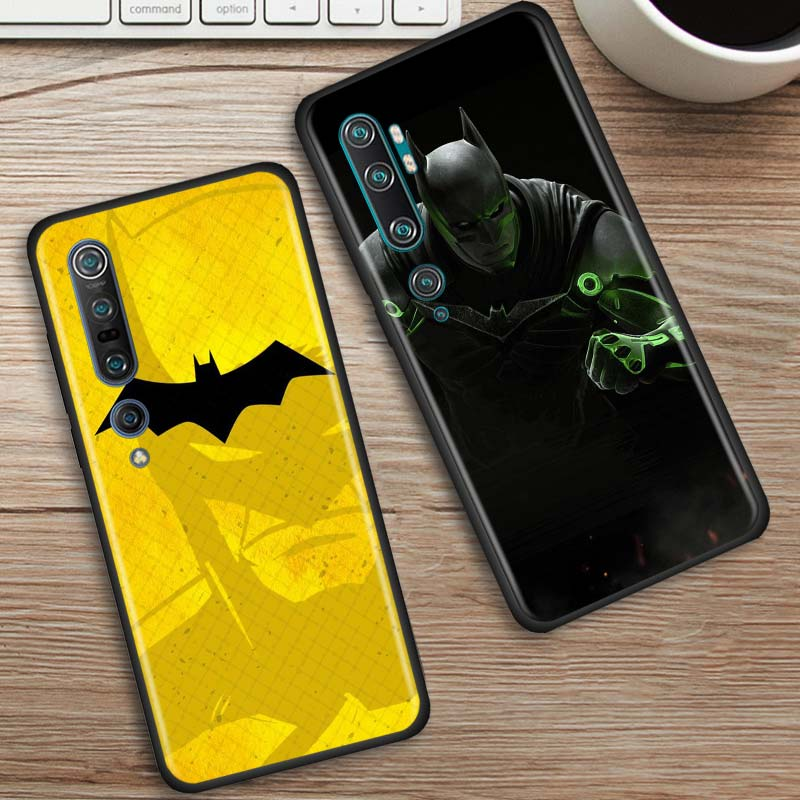 Batman 2017 Case For Xiaomi Mi Note 10 9 9T Pro 5G CC9 CC9E 8 A3 A2 Lite Poco X2 F1 Black Soft Phone Cover Bags