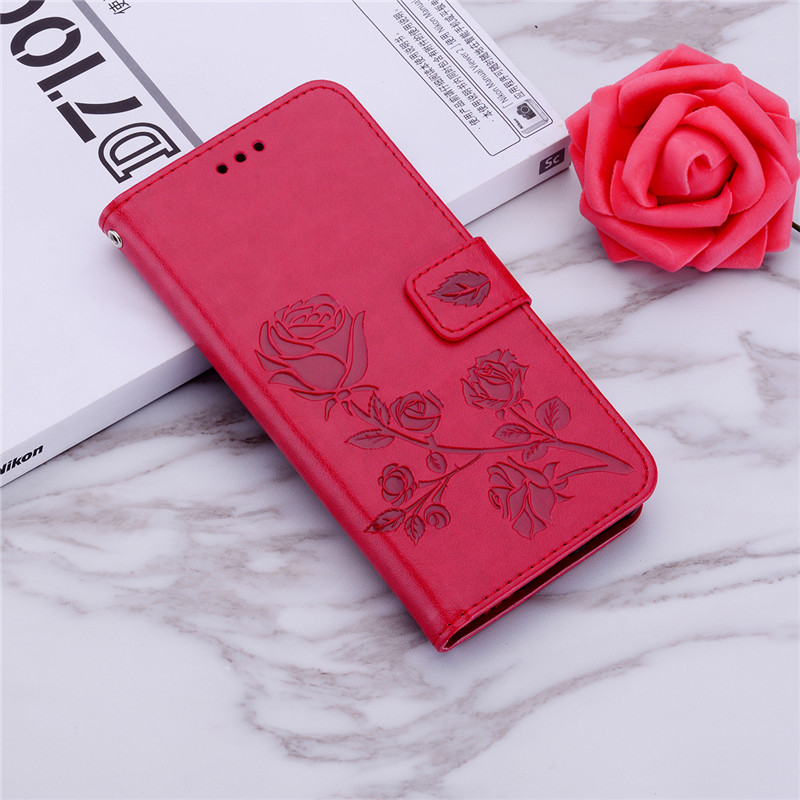 Luxury Phone Case for <font><b>Huawei</b></font> Ascend <font><b>Y360</b></font> <font><b>Y360</b></font>-<font><b>u61</b></font> Y3 Y336 Y3C Y366 3D Flower Design Wallet Leather Flip Phone Cover Case image
