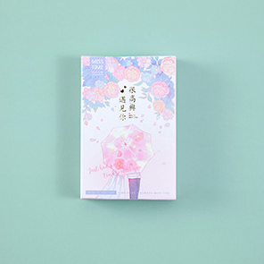 52mm*80mm Meet Happy Paper Greeting Card Lomo Card(1pack=28pieces)
